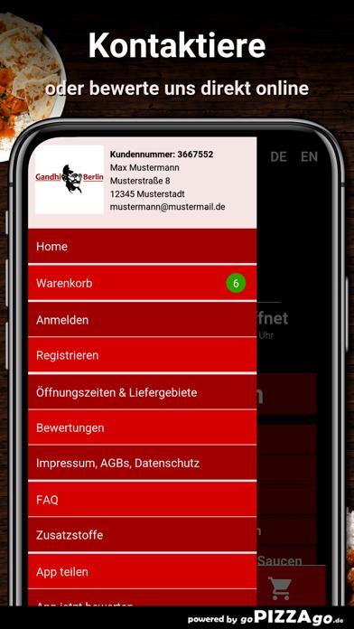 Restaurant Gandhi Berlin screenshot 3