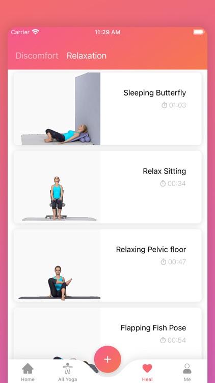 Prenatal Yoga Pregnancy Fitnes screenshot-6