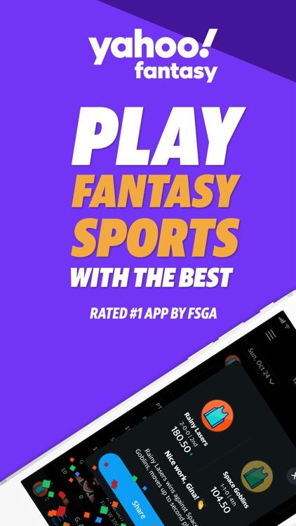 Yahoo Fantasy Football & Daily screenshot-0
