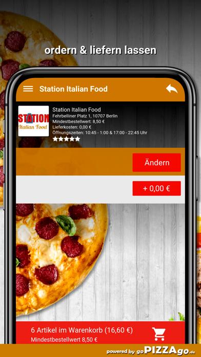 Station Italian Food Berlin screenshot 6