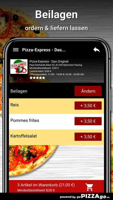 Pizza-Express München Pasing screenshot 6