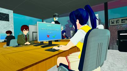 アニメ 高い 学校- 女の子 ゲーム紹介画像4