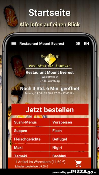 Mount Everest Würzburg screenshot 2