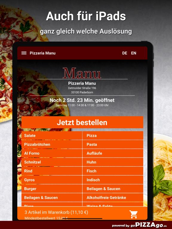 Pizzeria Manu Paderborn screenshot 7