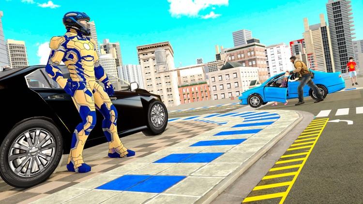 Miami Rope Hero Crime City screenshot-4