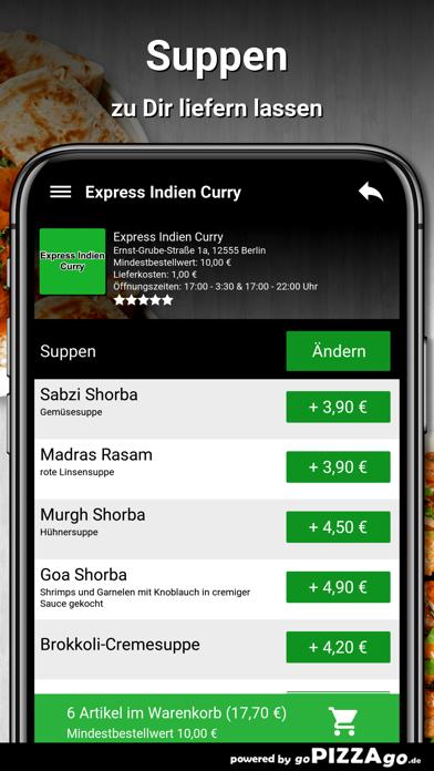 Express Indien Curry Berlin screenshot 5