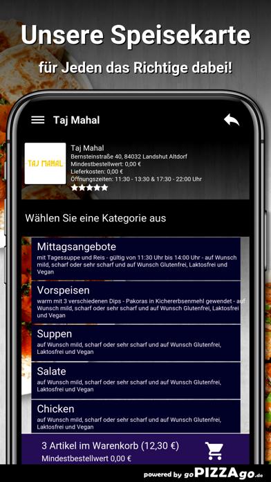 Taj Mahal Landshut Altdorf screenshot 4