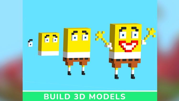 Maker Studio: Kids Block Craft screenshot-4