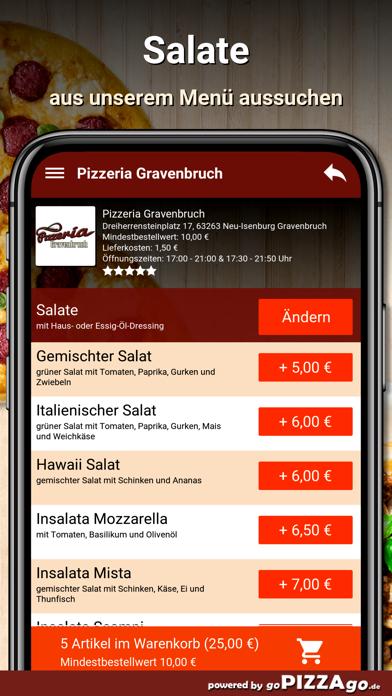 Pizzeria Gravenbruch Neu-Isenb screenshot 5