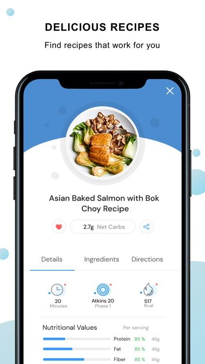 Atkins® Carb & Meal Tracker screenshot-3