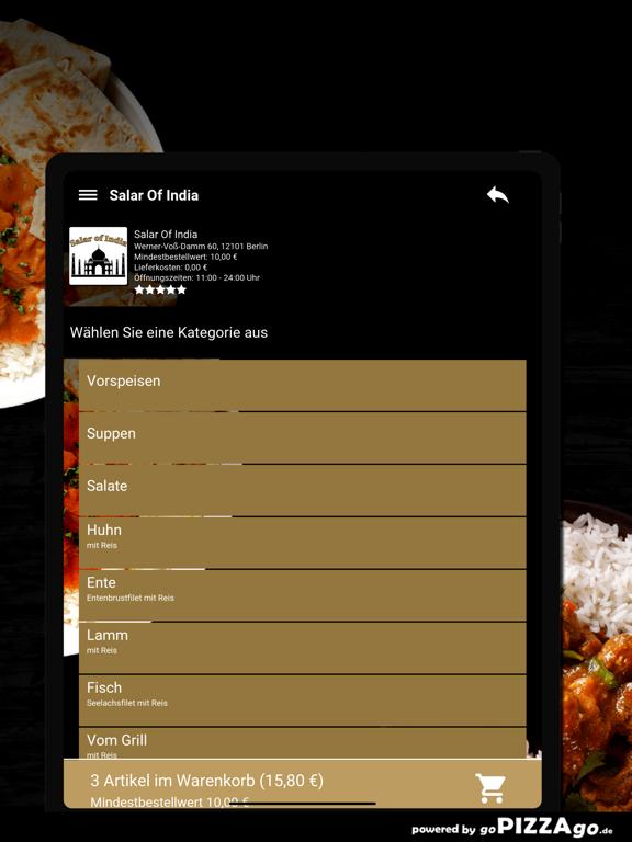 Salar Of India Berlin screenshot 8