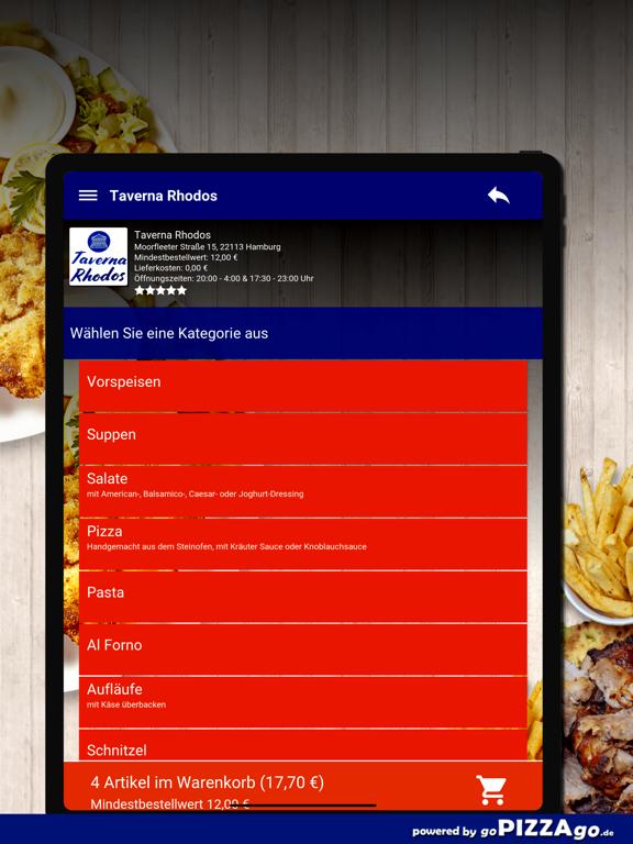 Taverna Rhodos Hamburg screenshot 8