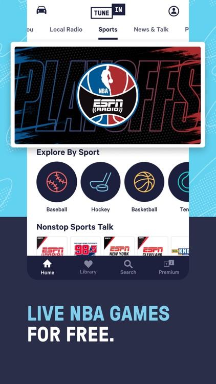 TuneInRadio: Music & Sports screenshot-8