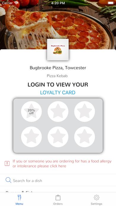 Bugbrooke Pizza, Towcester screenshot 1