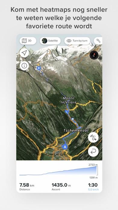 Suunto iPhone app afbeelding 5