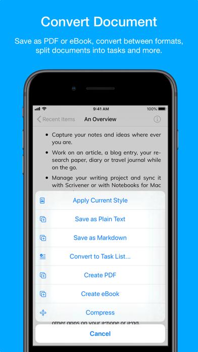 Скриншот №9 к Notebooks – Write and Organize
