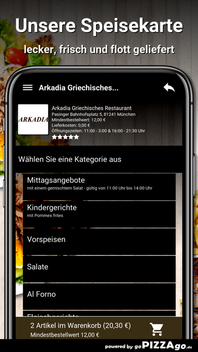 Arkadia München screenshot 4