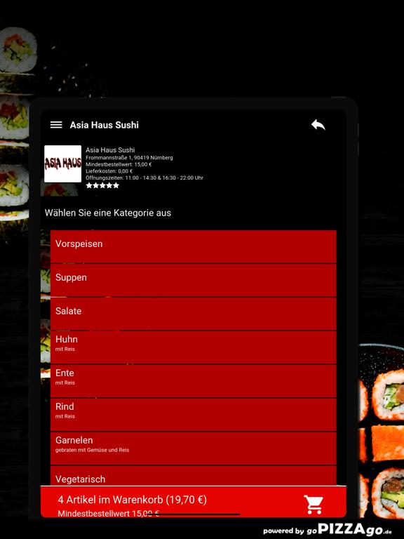 Asia-Haus Sushi Nürnberg screenshot 8