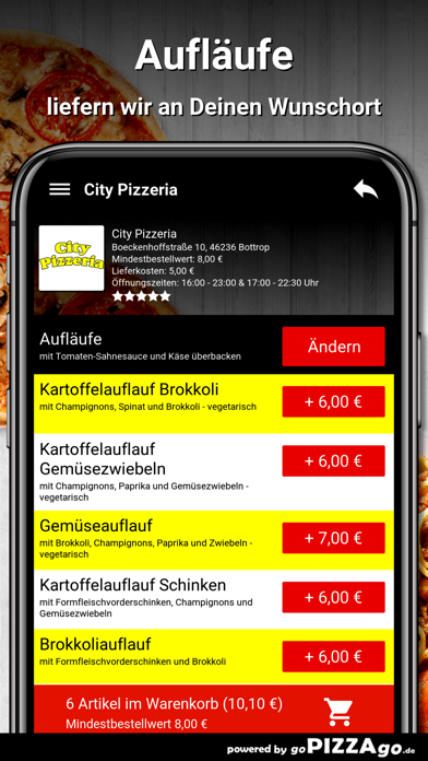 City Pizzeria Bottrop screenshot 6