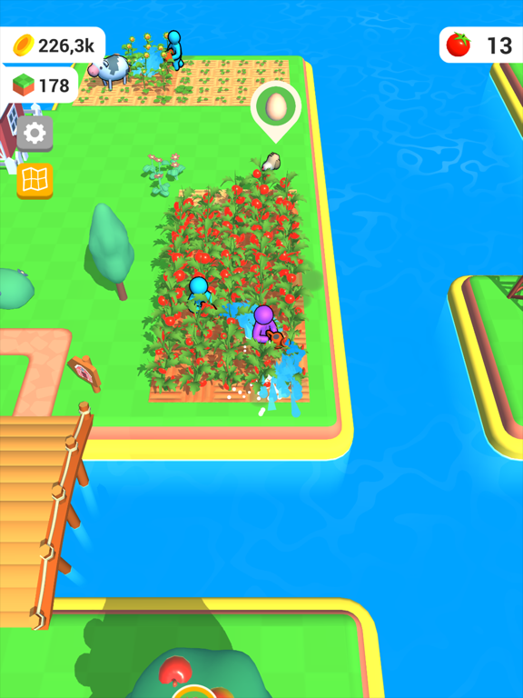 Ipad Screen Shot Farm Land 3D 4