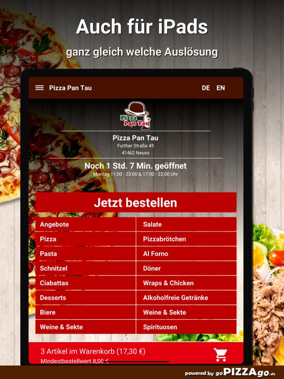 Pizza Pan Tau Neuss screenshot 7