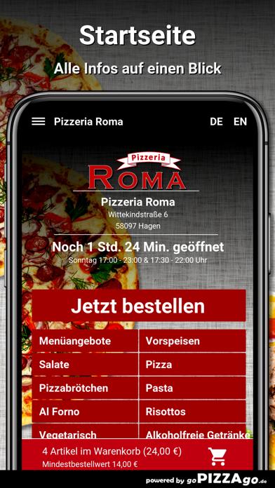 Pizzeria Roma Hagen screenshot 2