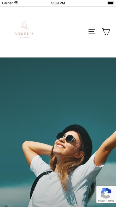 Angel's E-commerce Screenshot