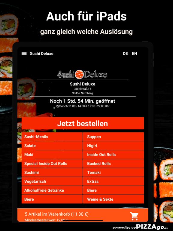 Sushi Deluxe Nürnberg screenshot 7