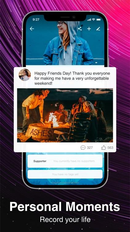 Sango - Group Voice Chat App screenshot-5