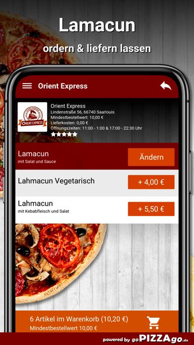 Orient Express Saarlouis screenshot 6