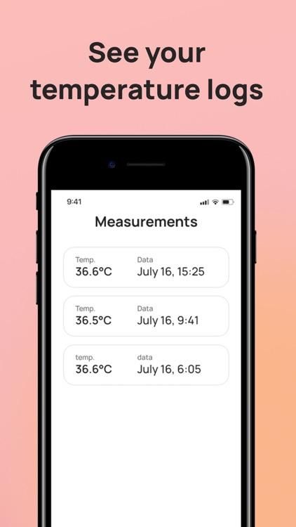 Body Temperature App: No Fever