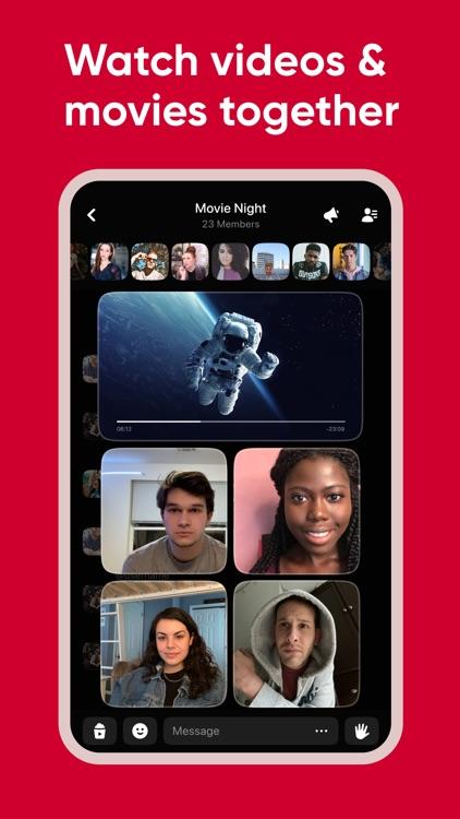 Airtime | A live social space screenshot-4
