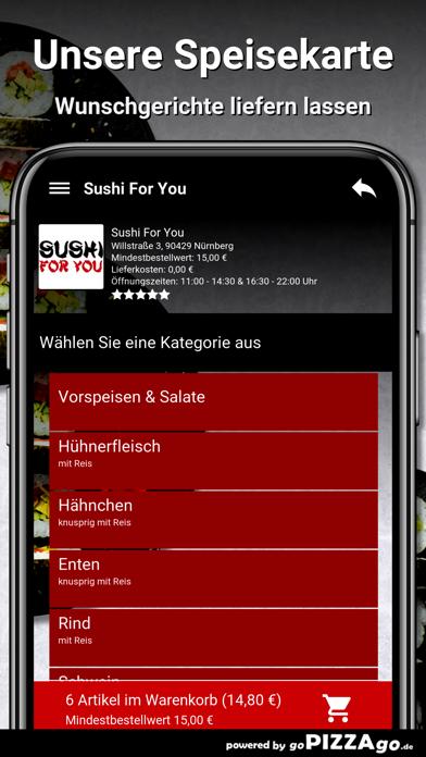 Sushi For You Nürnberg screenshot 4