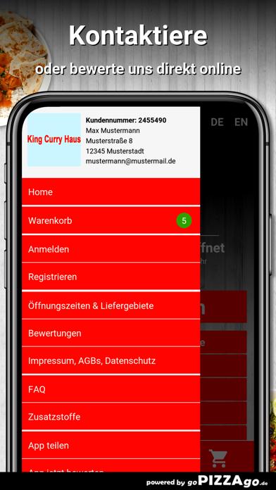 King Curry Haus Wiesbaden screenshot 3