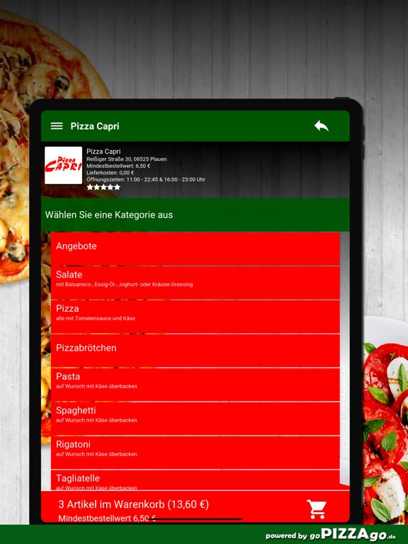 Pizza Capri Plauen screenshot 8