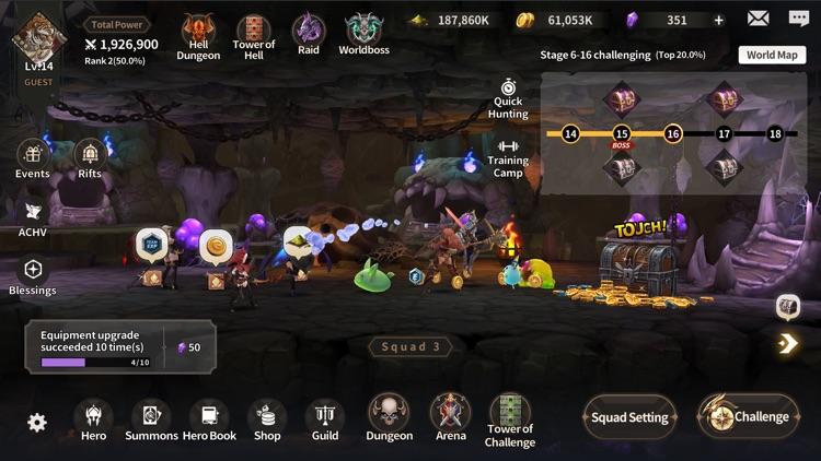 Epic Fantasy:Idle Strategy RPG screenshot-5
