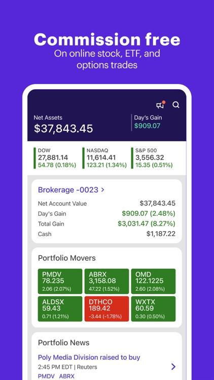 E*TRADE: Invest. Trade. Save. screenshot-4