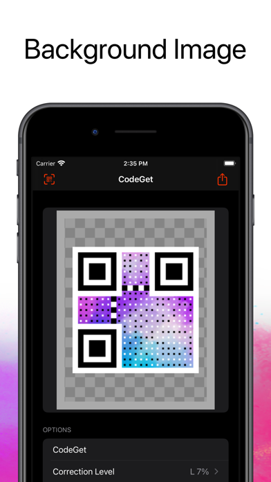 CodeGet Qr Code Generator screenshot 3
