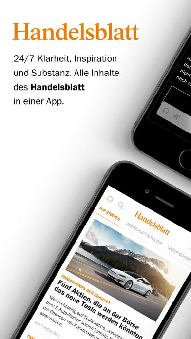 Handelsblatt - Nachrichtenのおすすめ画像1