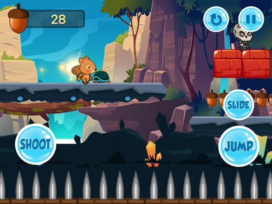 The Jungle Squirrel On Journey screenshot 8