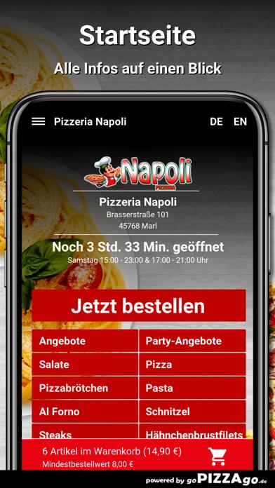 Pizzeria Napoli Marl screenshot 2
