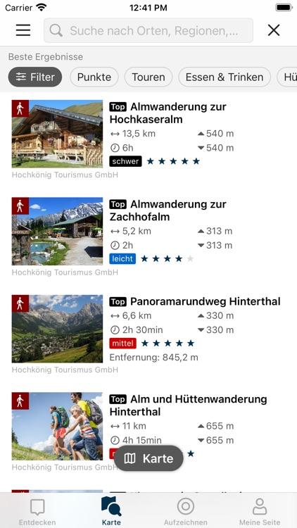 Die Region Hochkönig entdecken screenshot-3