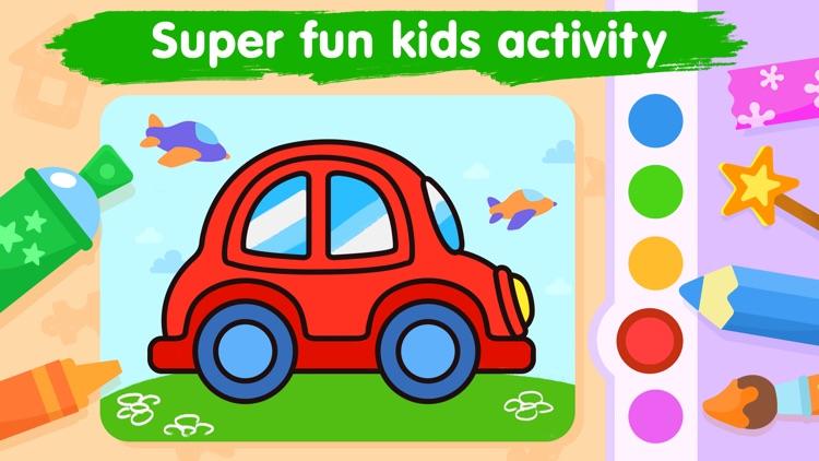 Kids coloring games for 3-5 screenshot-4
