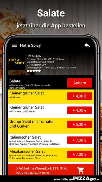 Hot & Spicy Hainburg screenshot 5