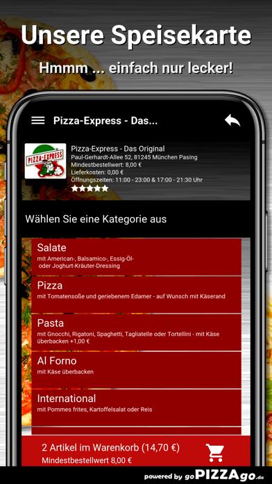 Pizza-Express München Pasing screenshot 4