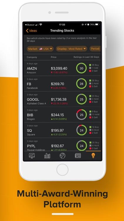 TipRanks Stock Market Analysis screenshot-7