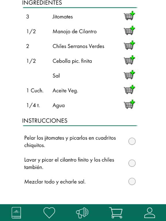 Recetario - Alle's Cookbook screenshot 12