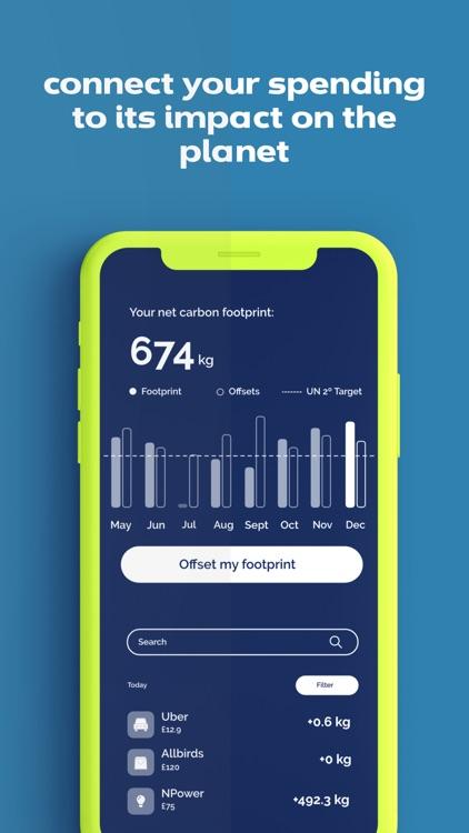 Yayzy Track Carbon Footprint screenshot-3