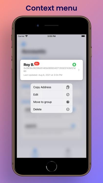 Etherscan Address Tracker screenshot-7
