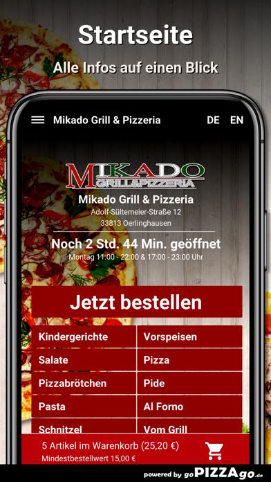 Mikado-Grill Oerlinghausen screenshot 2